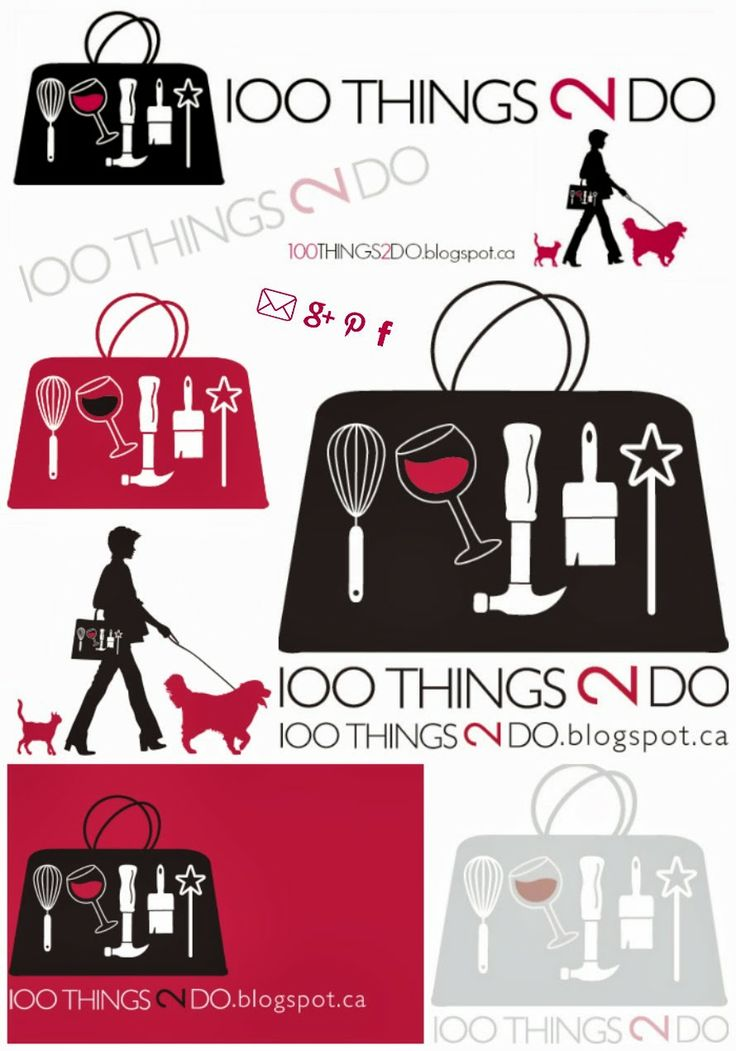 Blog logos - whole array of designs for different uses.