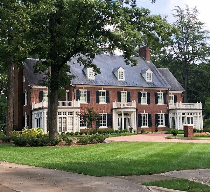 Colonial Style Houses Colonial House Exteriors House Design Colonial House