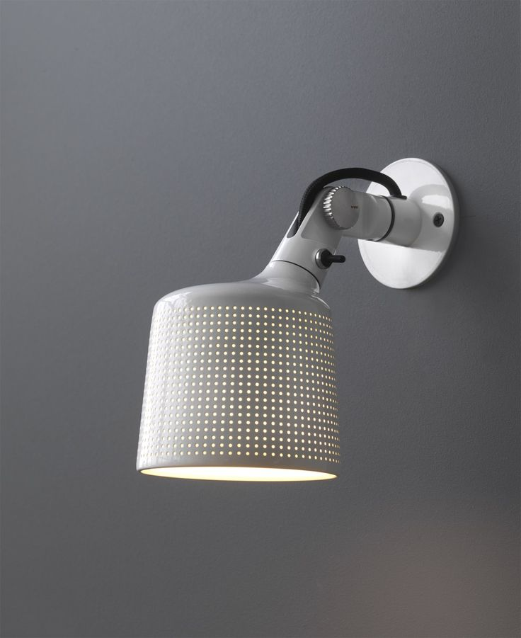 Vipp Wall spots in white - via cocolapinedesign.com