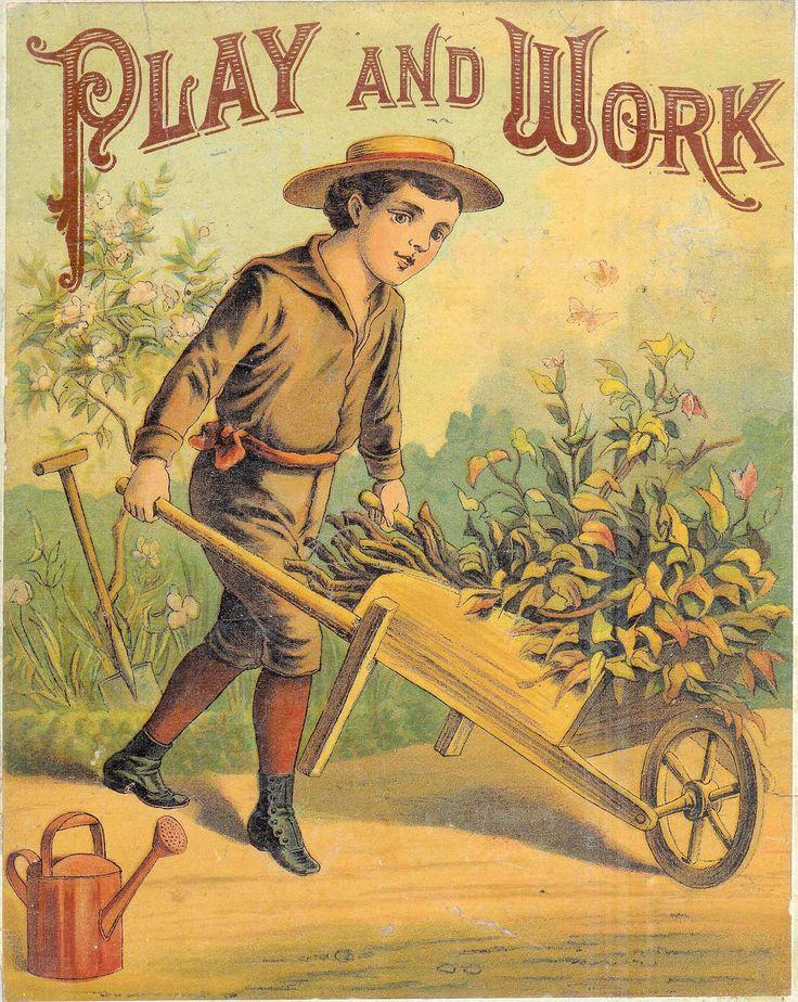 Vintage Cookbook Cover Art : Antique images vintage victorian storybook cover