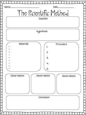 25+ best ideas about Scientific method worksheet on Pinterest ...