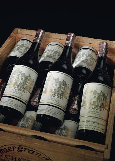 French wine Chapter Three : Bordeaux Château Haut Brion 1982 / Pessac Léognan / Bordeaux / France. http://frenchisgood.com/french-wine-chapter-three-bordeaux/