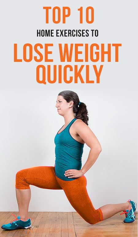 Top 10 Home Exercises To Lose Weight Quickly | The secret ...