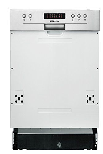 379.80 respekta Einbau Geschirrspüler Spülmaschine teilintegriert 45 cm EEKL A++ inkl. Aquastop & LED Display
