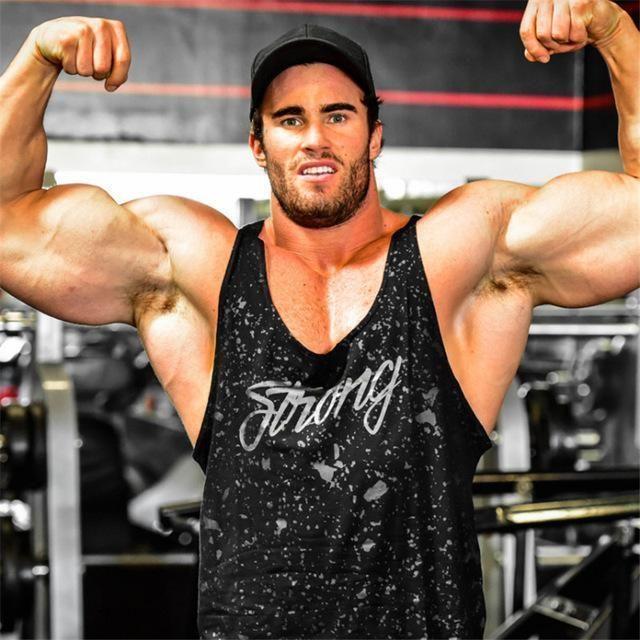 Strong Body Building Tank Top #bodybuildingtips