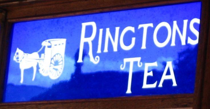 Rington Tea sign at Beamish, Durham