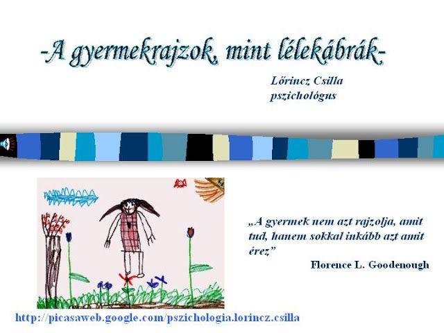 Gyermekrajzok lélektanáról - Mária Balogh - Picasa Webalbumok
