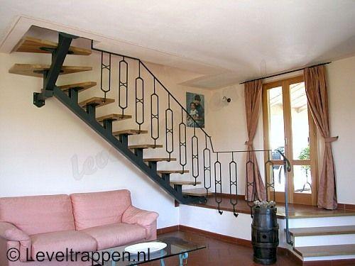 25 beste idee n over smeedijzeren trap op pinterest - Leuning smeedijzeren trap ...