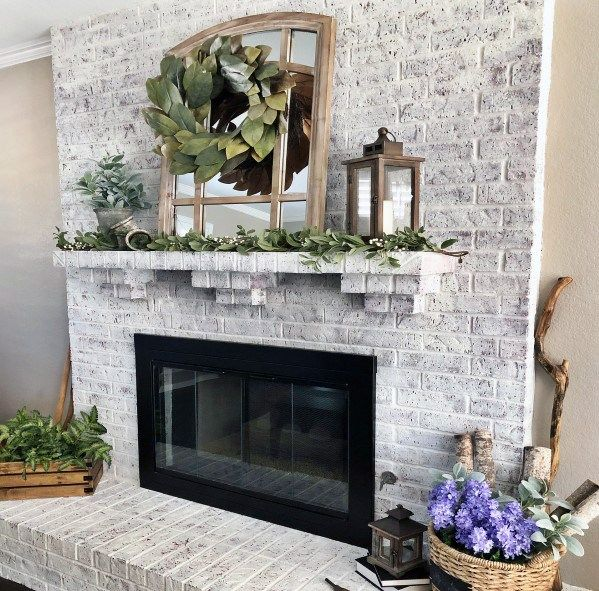 Top 50 Best Painted Fireplace Ideas Interior Designs In 2020