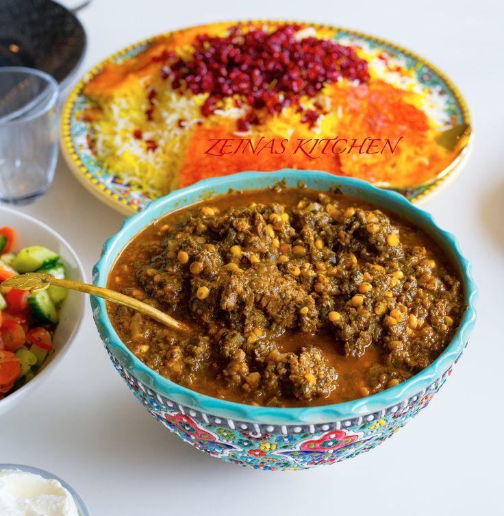 Jag älskar mustiga grytor och lagar det gärna året runt trots att grytor känns lite som typisk vintermat. Jag lagar alltid en stor sats och äter av grytan 2 dagar, det blir ju så mycket godare när grytan får stå och gotta till sig i kylen. Även perfekt mat att frysa in och ta fram när man är hungrig. Denna irakiska spenatgryta är en favorit här hemma och alla älskar den. Den smakar fantastiskt gott och påminner en aning om ghorme sabzi. Jag kokade köttet i en separat gryta, precis innan jag…