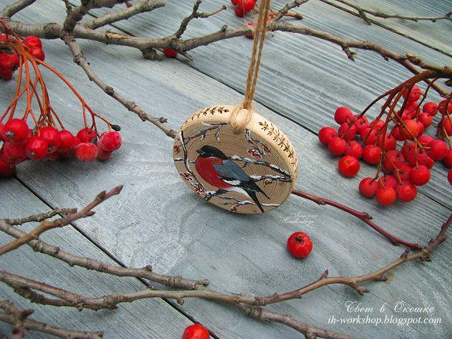 Ирина Хорошевская | art: Снегири