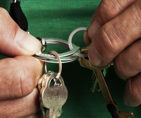 Easy Opening Key Ring - http://tiwib.co/easy-opening-key-ring/ #ToolsAccessories