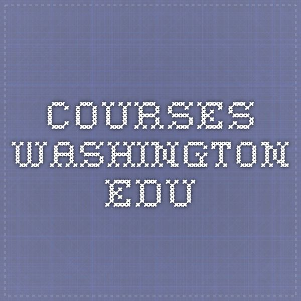 courses.washington.edu