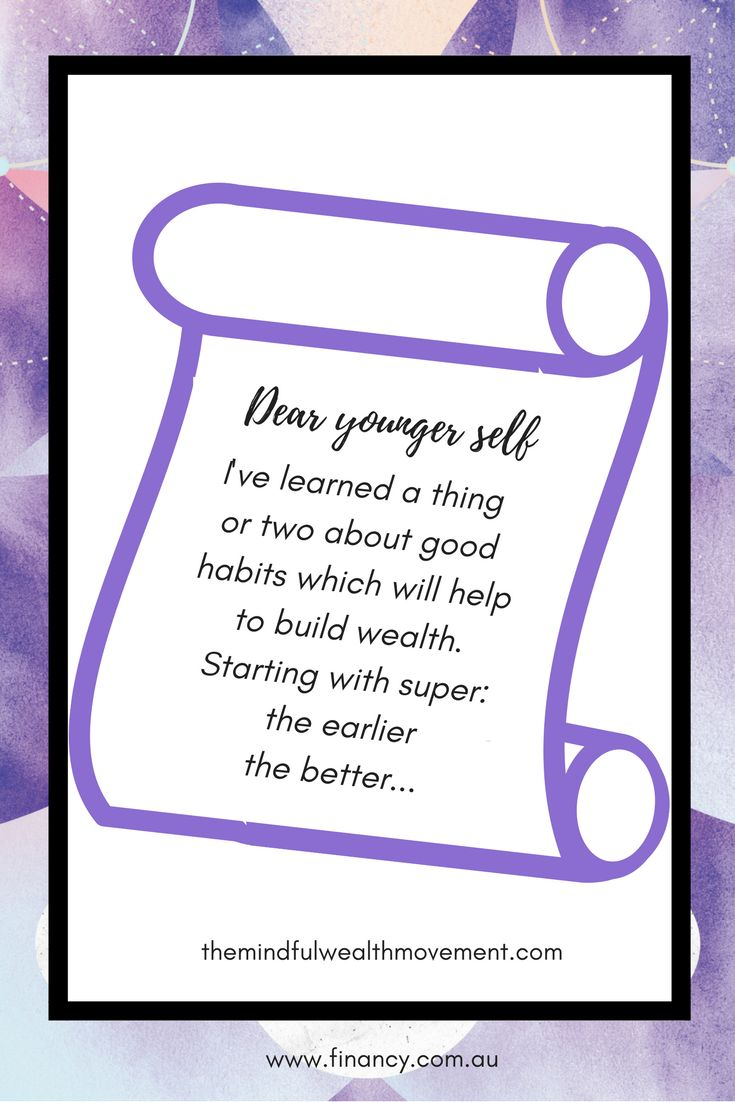 What advice would you give to your younger self about money? Check out these money-smart tips…