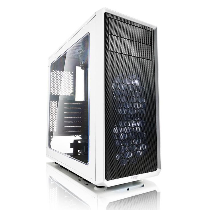 Компютърна кутия Fractal Design Focus G, Бяла (FD-CA-FOCUS-WT-W) - цена и характеристики | Plasico IT Superstore
