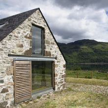 Rural Design Architects - Isle of Skye and the Highlands and Islands.  Leachachan barn turned into home