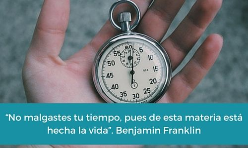 #BenjaminFranklin #Productividad #Tiempo #Aprovechatutiempo #FabricaTiempo