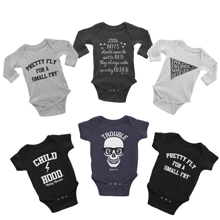 Cool - funny - stylish - unique baby boy & girl onesies. By Root Avenue