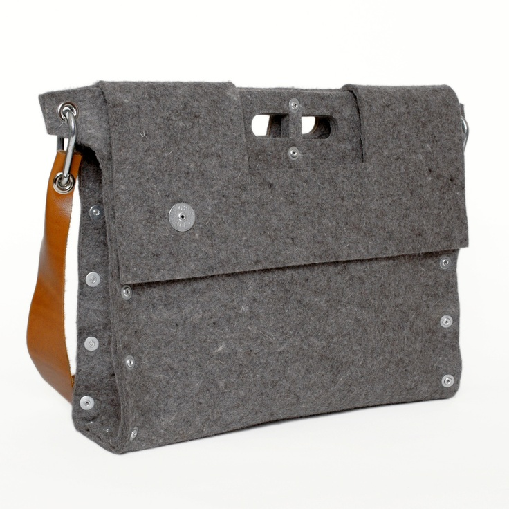 Briefcase / Messenger Bag by M. Bianucci
