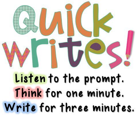 write a-one minute story