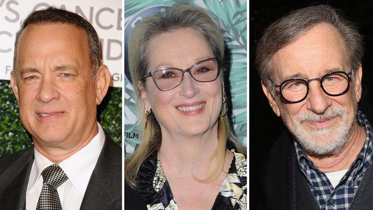 Tom Hanks, Meryl Streep to Star in Pentagon Papers Drama From Steven Spielberg #FansnStars
