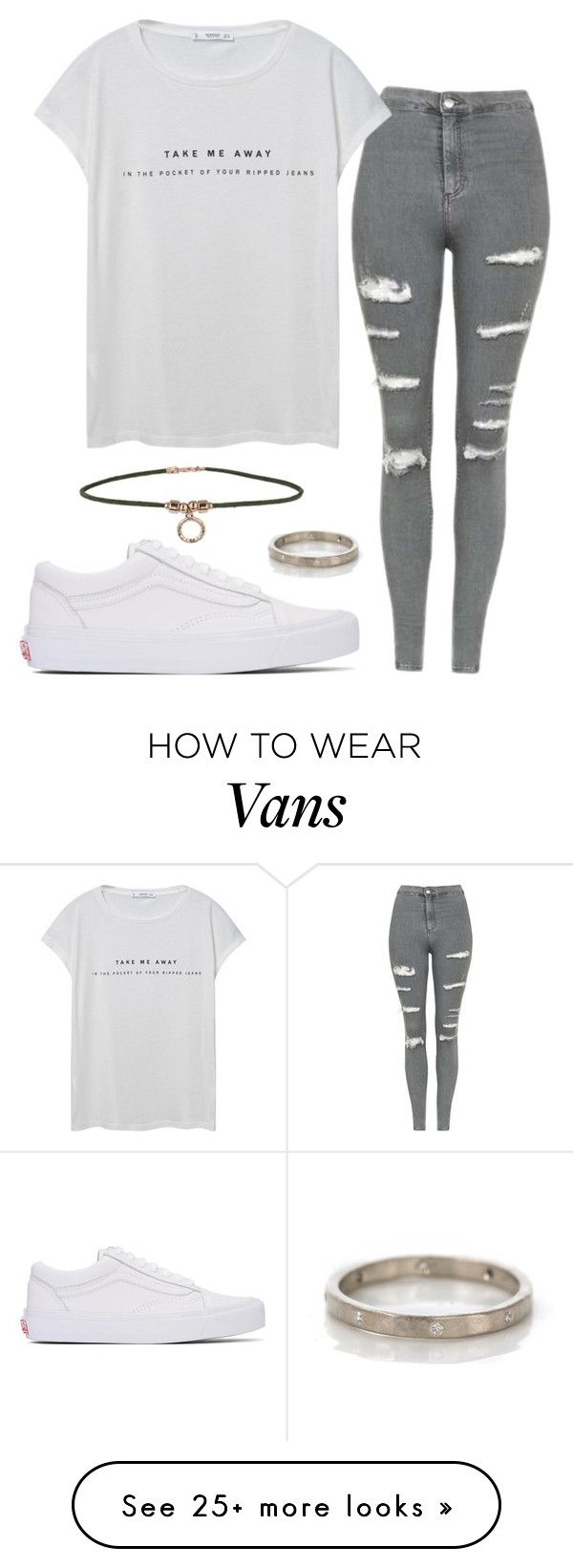 """#No name"" by eemaj on Polyvore featuring Topshop, MANGO, Vans and Miss Selfridge"