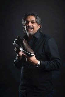 Soenil Bahadoer and the GT1proMagister #shoes #chefwear #chef #chauddevant