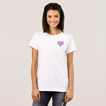 Women's Basic T-Shirt - heart gifts love hearts special diy