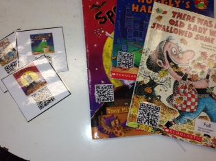 The Schroeder Page!: Fall QR Code Online Reading Center Idea & Freebie! My plan is to make small cards for students to scan with our classroom ipad and tablet.  They will then be able to practice visualization while listening to the story or using the book to listen to the story to practice retelling.