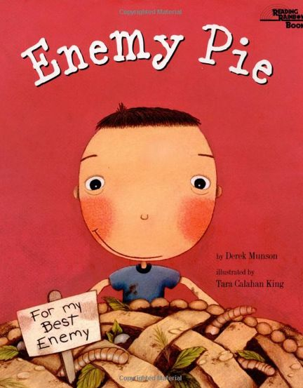 Freebies for Enemy Pie: story map sheet, blank story map, and venn diagram to compare/contrast friends and enemies