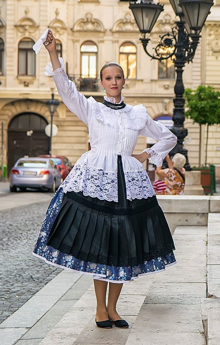 Hungarian folk dress