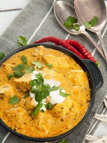 Easy Chicken Curry w Yoghurt