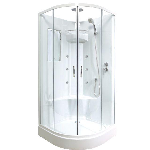1000 id es sur le th me douche hydromassante sur pinterest for Cabines de douches castorama