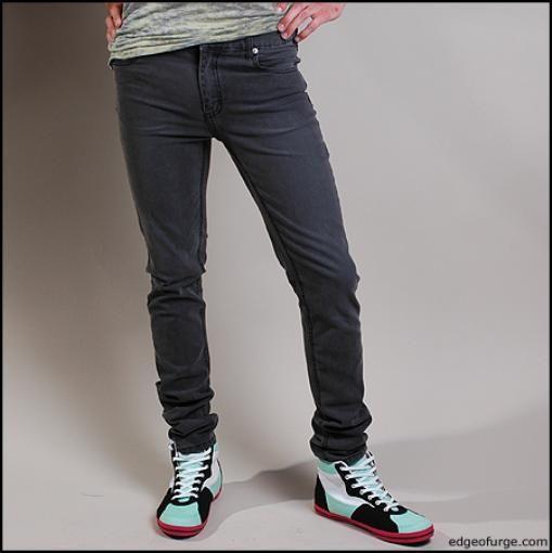 Зауженные мужские штаны фото