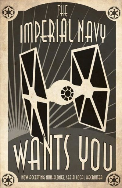 Star Wars Propaganda by Steve Squall