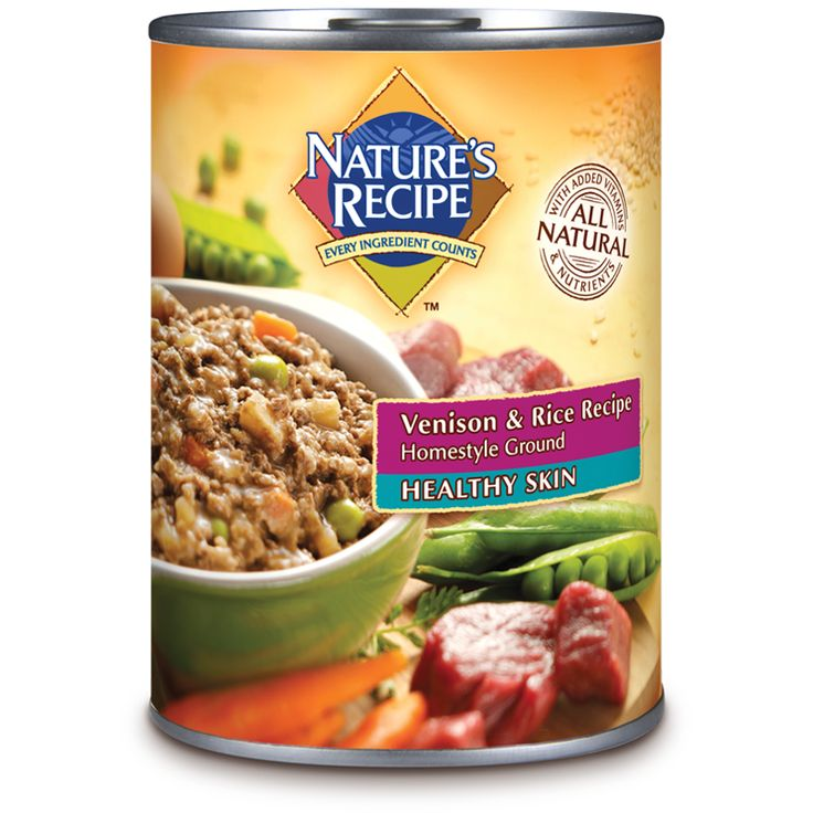 Natures Recipe Can Venison Dog Food