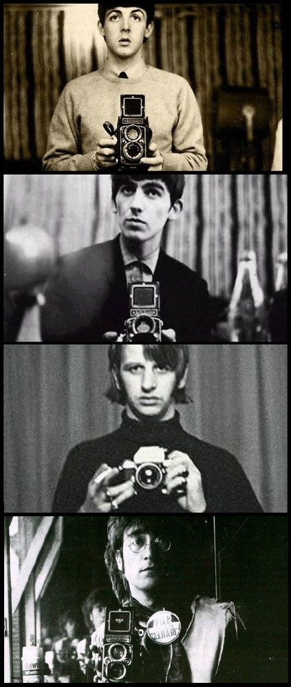 HAHAHAHAHAHAHA!!!!!!!!!! Take that people who take selfies all the time that think The Beatles aren't cool!!!!!!!!!