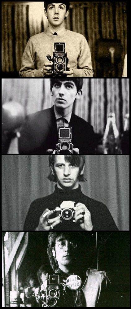 HAHAHAHAHAHAHA!!!!!!!!!! Take that people who take selfies all the time that think The Beatles aren't cool!!!!!!!!!