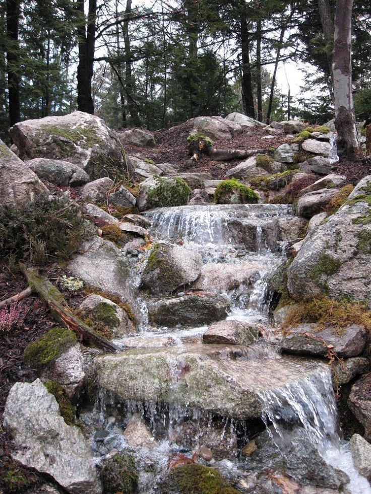 82 best pondless waterfall images on pinterest backyard for Waterfall design