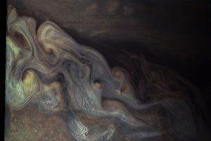 Jupiterove oblaky.