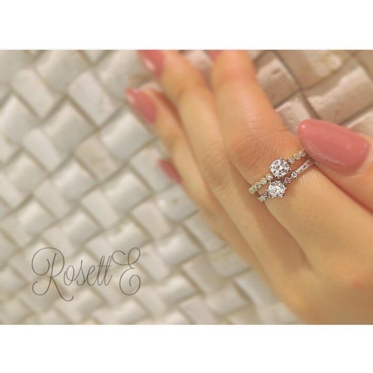 "〜RosettE〜 白い薔薇の花を寄り添うように、両脇から 祝福をささげる可愛らしいキューピッドを イメージしてある""夢"" 一粒の雫が広がっていくようにダイヤを あしらい、光が連なって行く様は 二人の未来の幸せを表す""しずく"" あなたはどちらがお好きですか?(*^^*) #RosettE#ロゼット #結婚指輪#マリッジリング #婚約指輪#エンゲージリング #結婚#婚約#結婚式#挙式#入籍 #記念日#サプライズ#プロポーズ #プレ花嫁#結婚準備#ウェディング #ウェディングアイテム#ピロー #2016冬婚#2017春婚#2017夏婚 #重ね付け#セットリング #wedding#bridalring#happy"