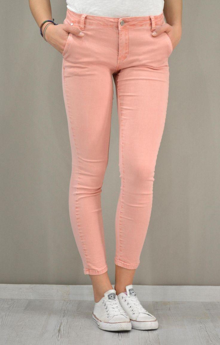Γυναικείο παντελόνι τσίνος skinny PANT-5049-pin | Γυναίκα