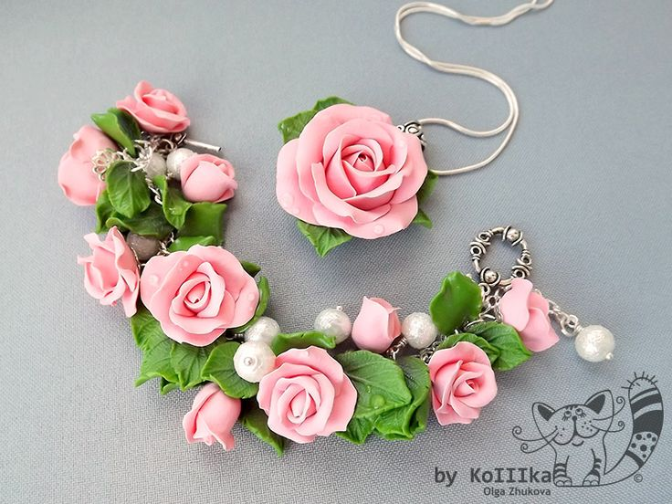 Bracelet and pendant by polyflowers on DeviantArt
