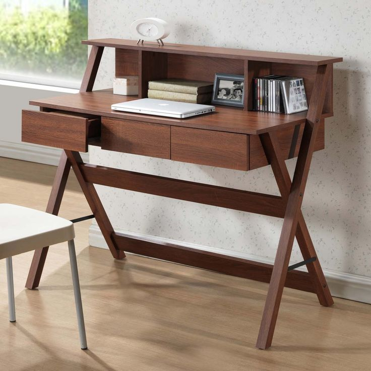 Attractive Get The Most Out Of Your Space With Our Freen Writing Desk. Vertically  Oriented Design Part 19