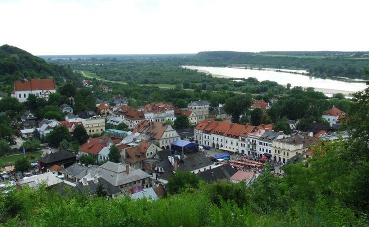 Mostem widmo do KazimierzaDolnego