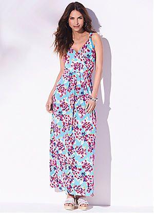 Floral Print Maxi Dress #kaleidoscope #hot #summer #heat
