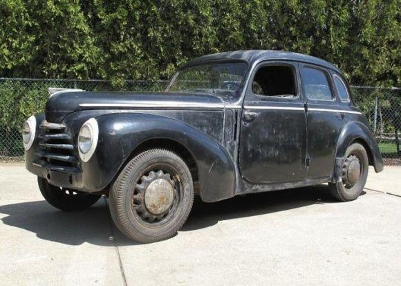 1950 Skoda 1102 Tudor Saloon