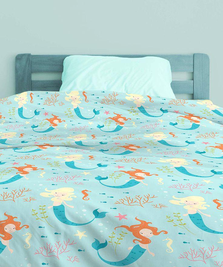 Mermaid Bed In A Bag Bedding Set Zulily Mermaid