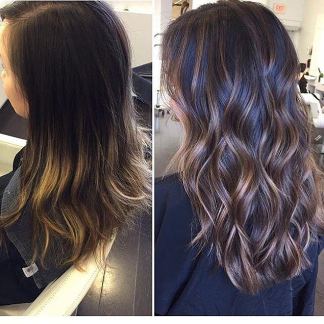 Getting ready for spring! Color: @baileyage Cut&Style: @getstyledbydora #brunette #balyage #colorspecialist #baileyage #getstyledbydora #cuttingspecialist #longlayers #cristophesalon #cristophenb