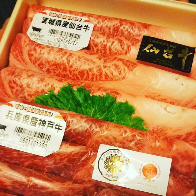 肉肉肉🍖 結婚式の引き出物これやばくない?w #肉 #仙台牛 #神戸牛 #えっ #やばい #胃もたれする #そんなはずは ヒント #歳